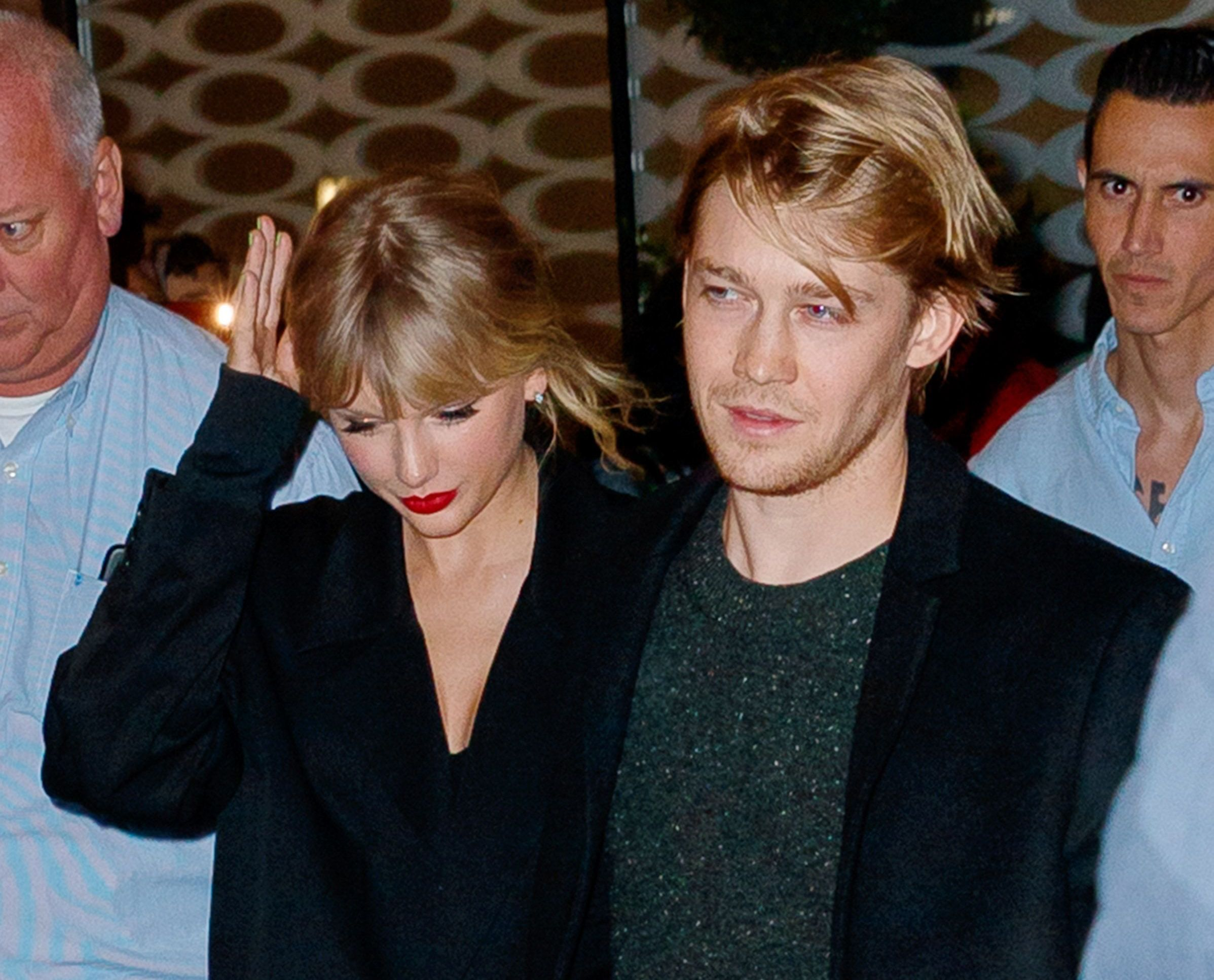Speculation is that Joe Alwyn helped Taylor Swift with some of her new songs.