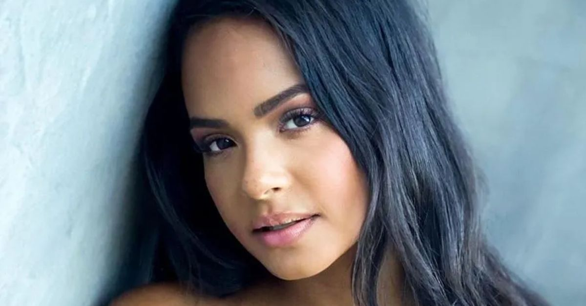 Christina Milian Explores Lava Floor In Glitter Bikini - The Blast