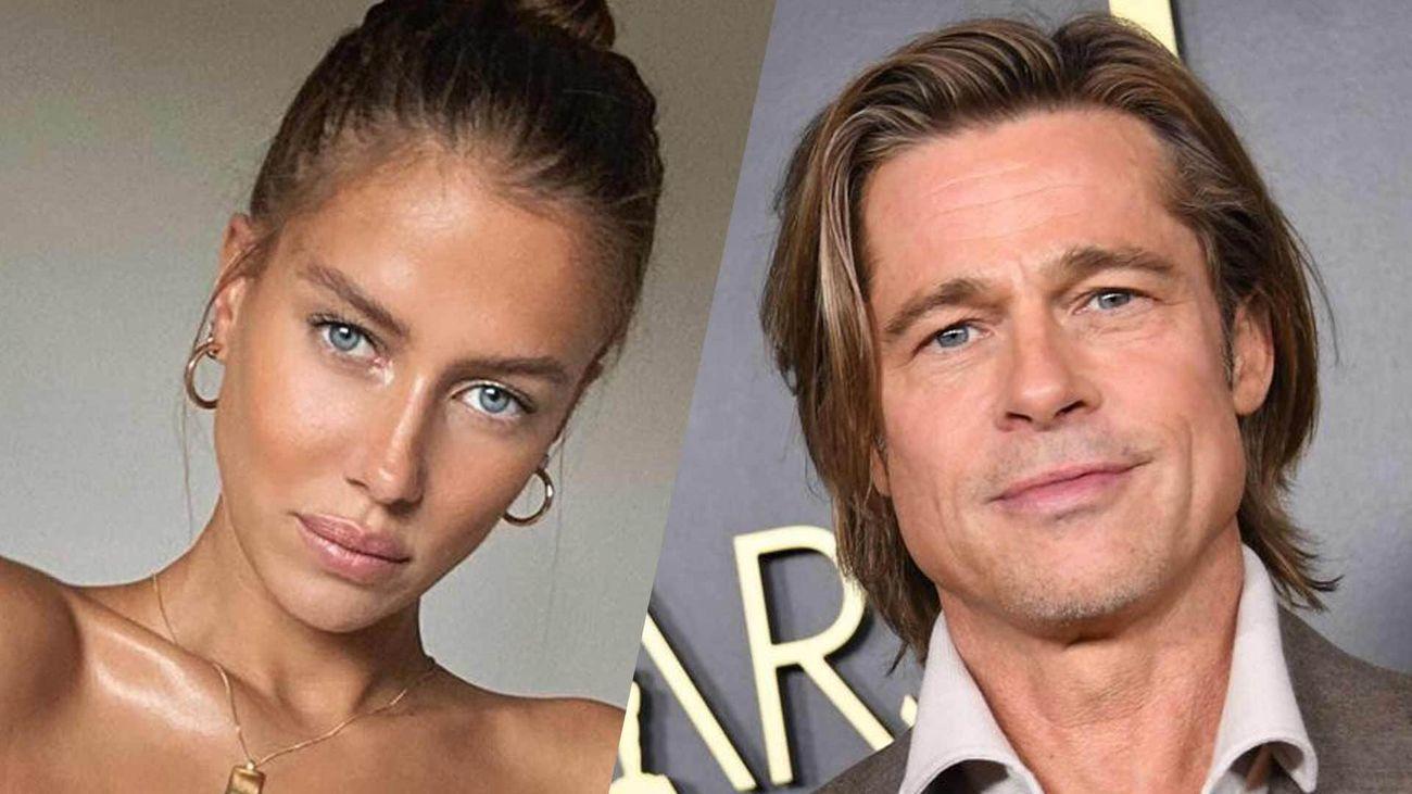 Brad Pitt S Girlfriend Nicole Poturalski Looks Stunning On Vacation