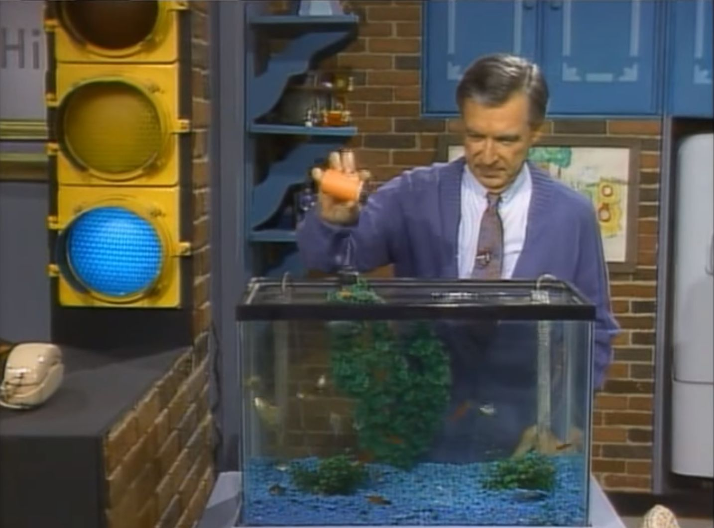 Mr Rogers Always Announced He Was Feeding His Fish After Getting Letter From Young Girl