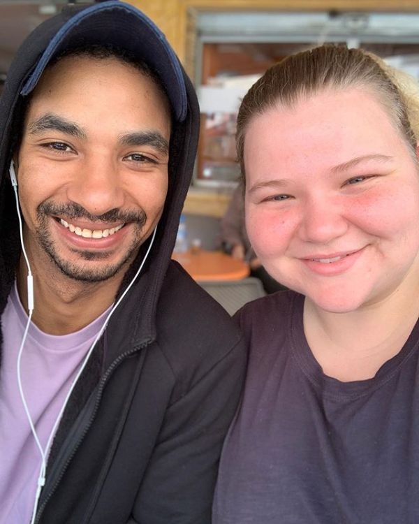 Nicole Nafziger and Azan Tefou
