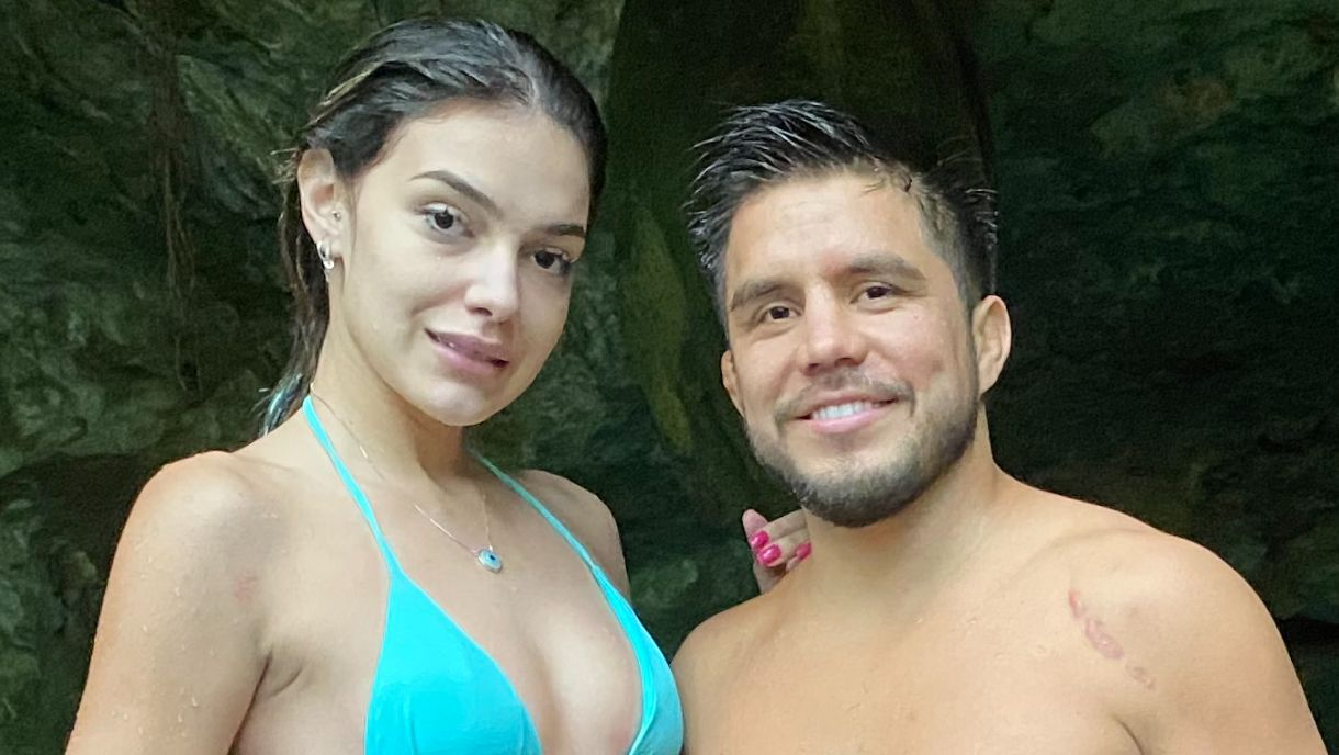 Henry Cejudo and Brazilian model