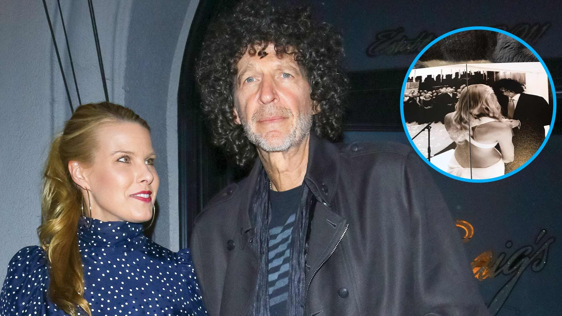 Howard Stern S Wife Beth Shares Rare Photo Of Their Wedding