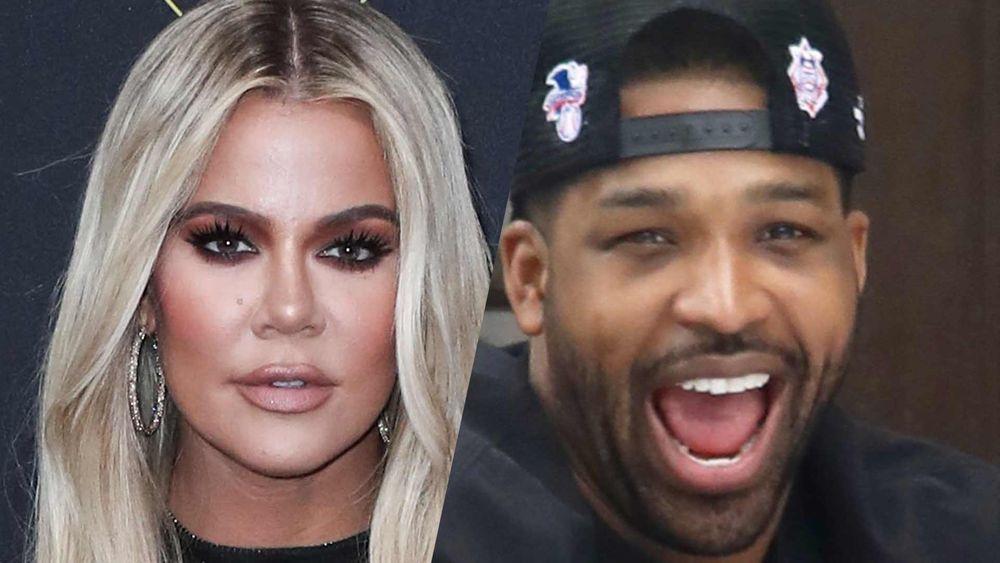 Khloe Kardashian and Tristan Thompson headshots
