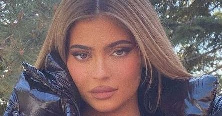 Kylie Jenner Makes A Gender Reveal In Plunging Undies