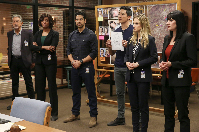 The cast of season 15 of 'Criminal Minds'