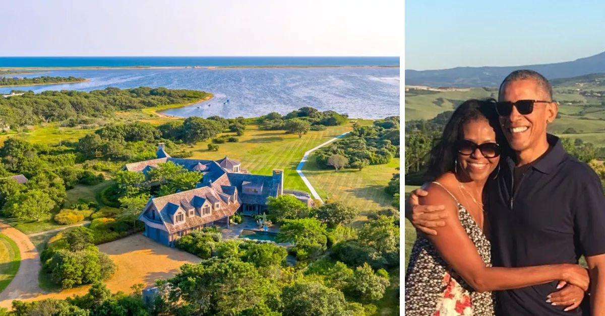 Barack And Michelle Obama Buy $11.75 Million Estate On Martha's Vineyard