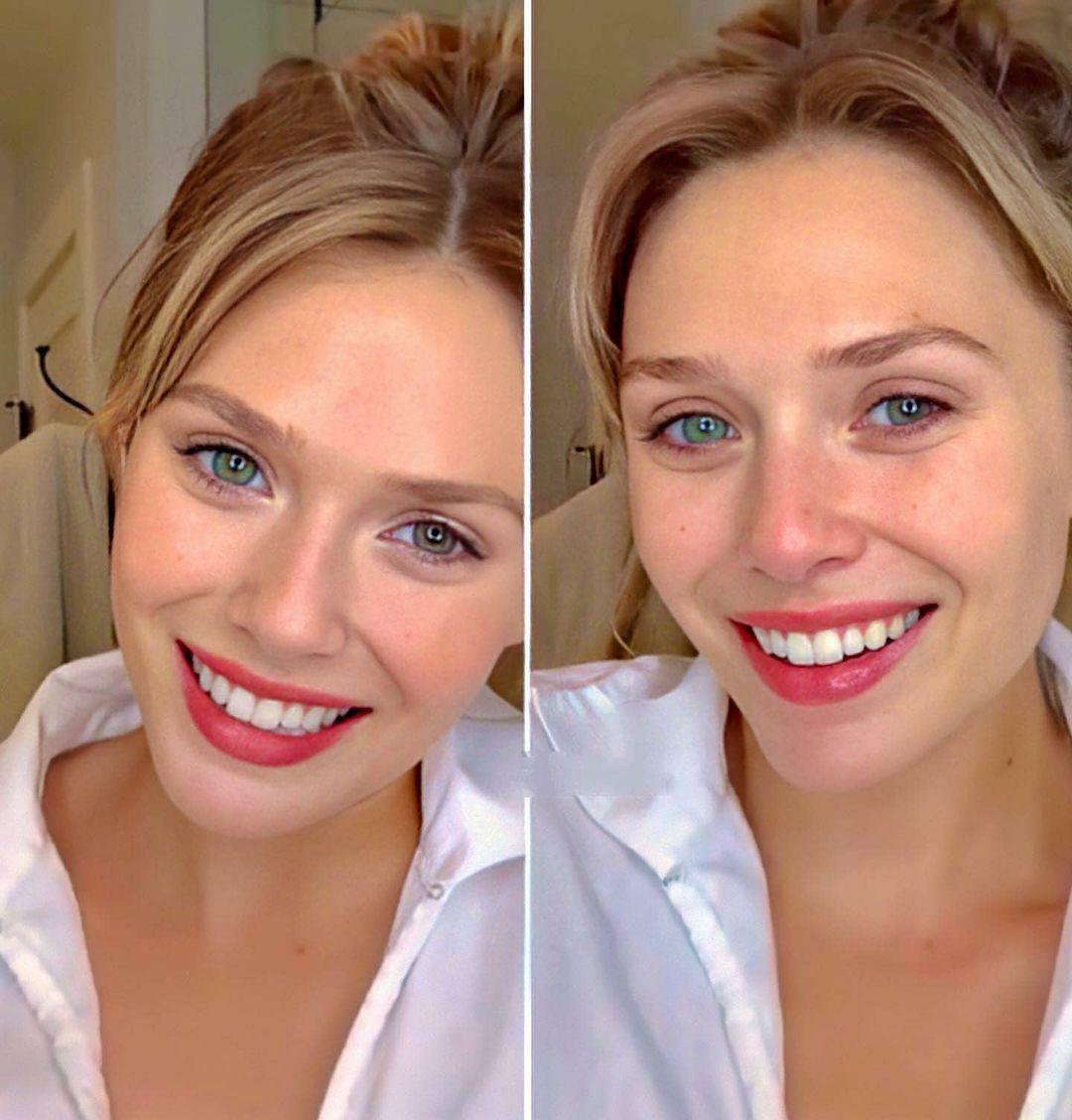 ELizabeth Olsen selfies