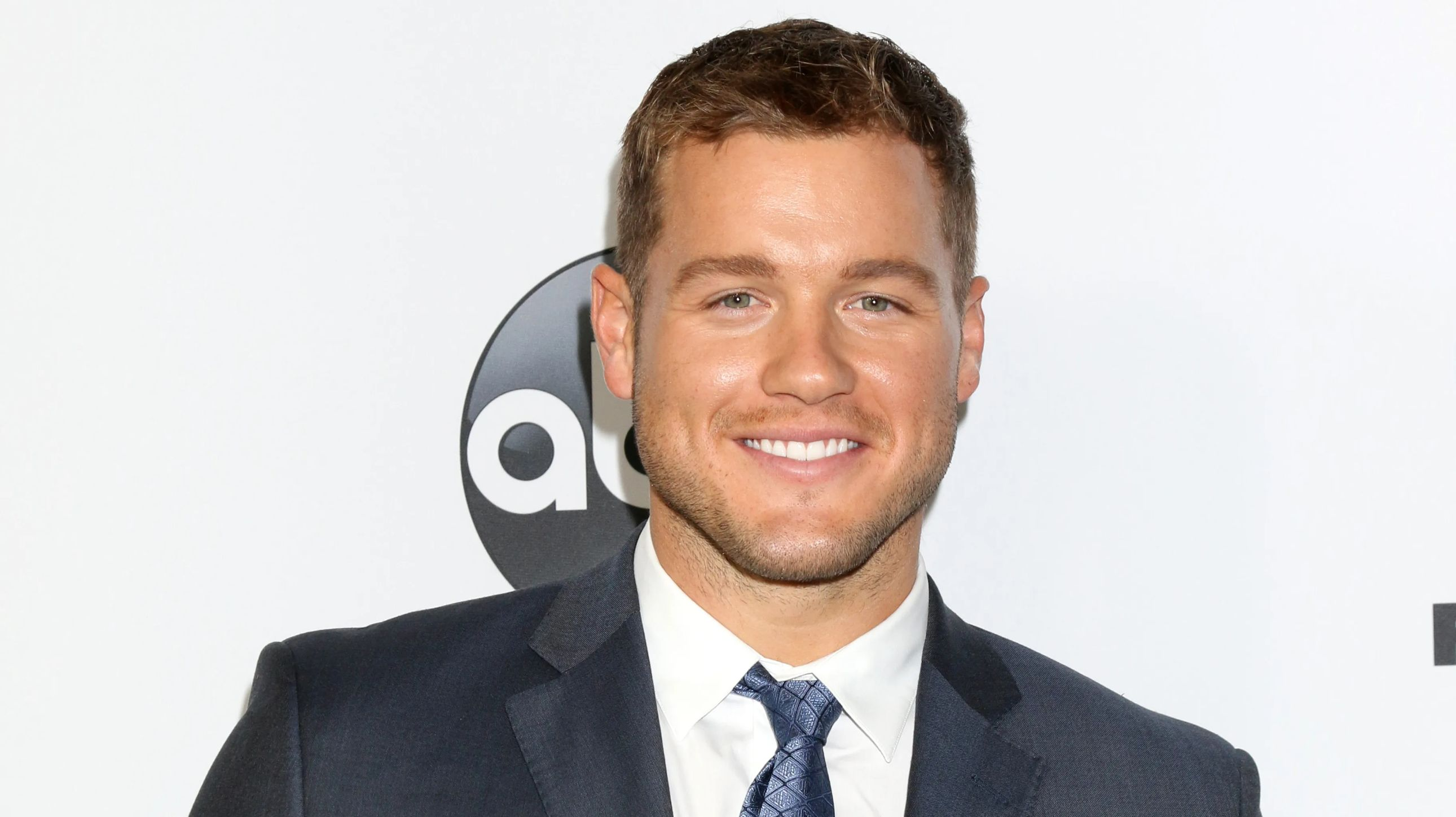 Colton Underwood at an ABC event