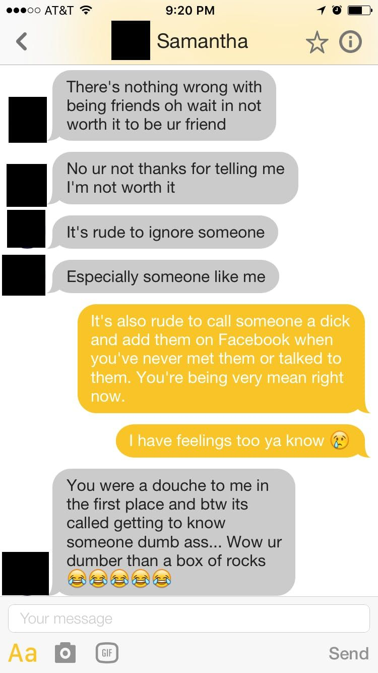 A Disastrous Tinder Match Proves That 'Nice Girls' Also Exist