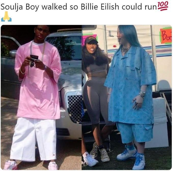 Here S The Reason Why Billie Eilish Wears Baggy Clothes All The Time