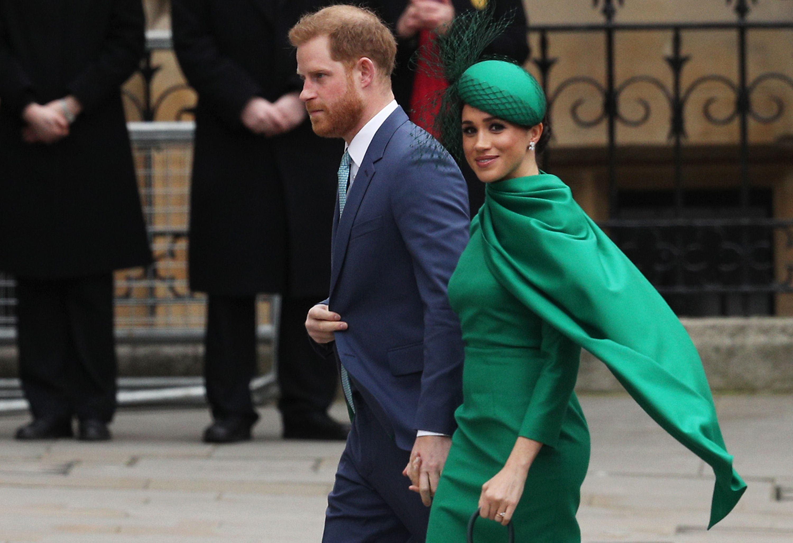 Prince Harry and Meghan Markle at Commonwelath Day