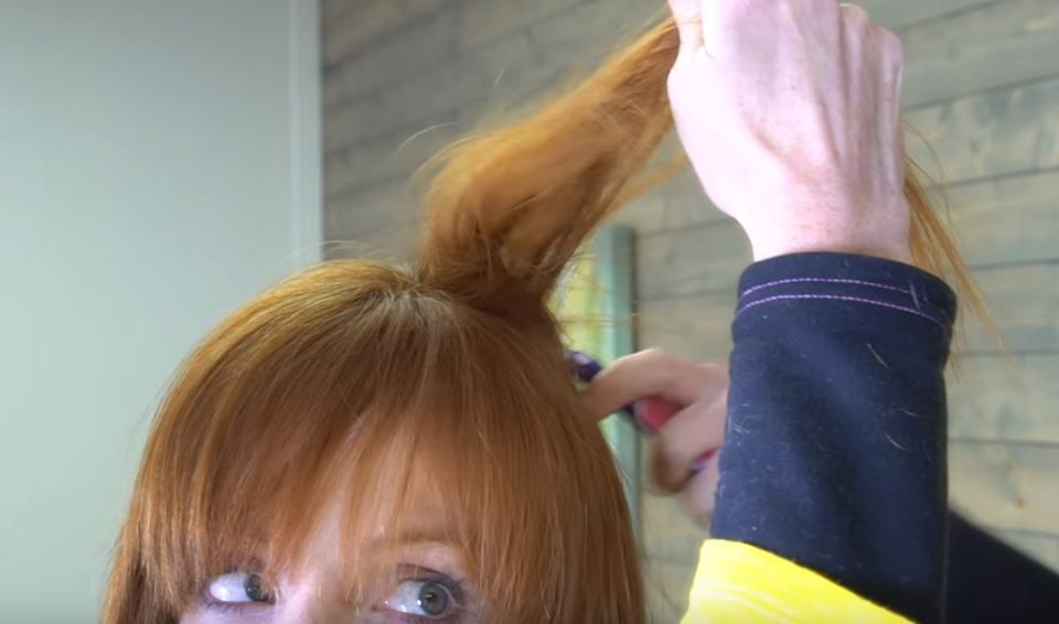 youtube how to tease hair