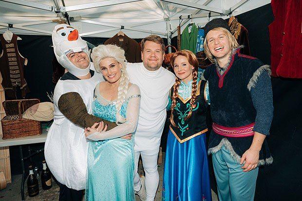 'Frozen' Cast in Costume