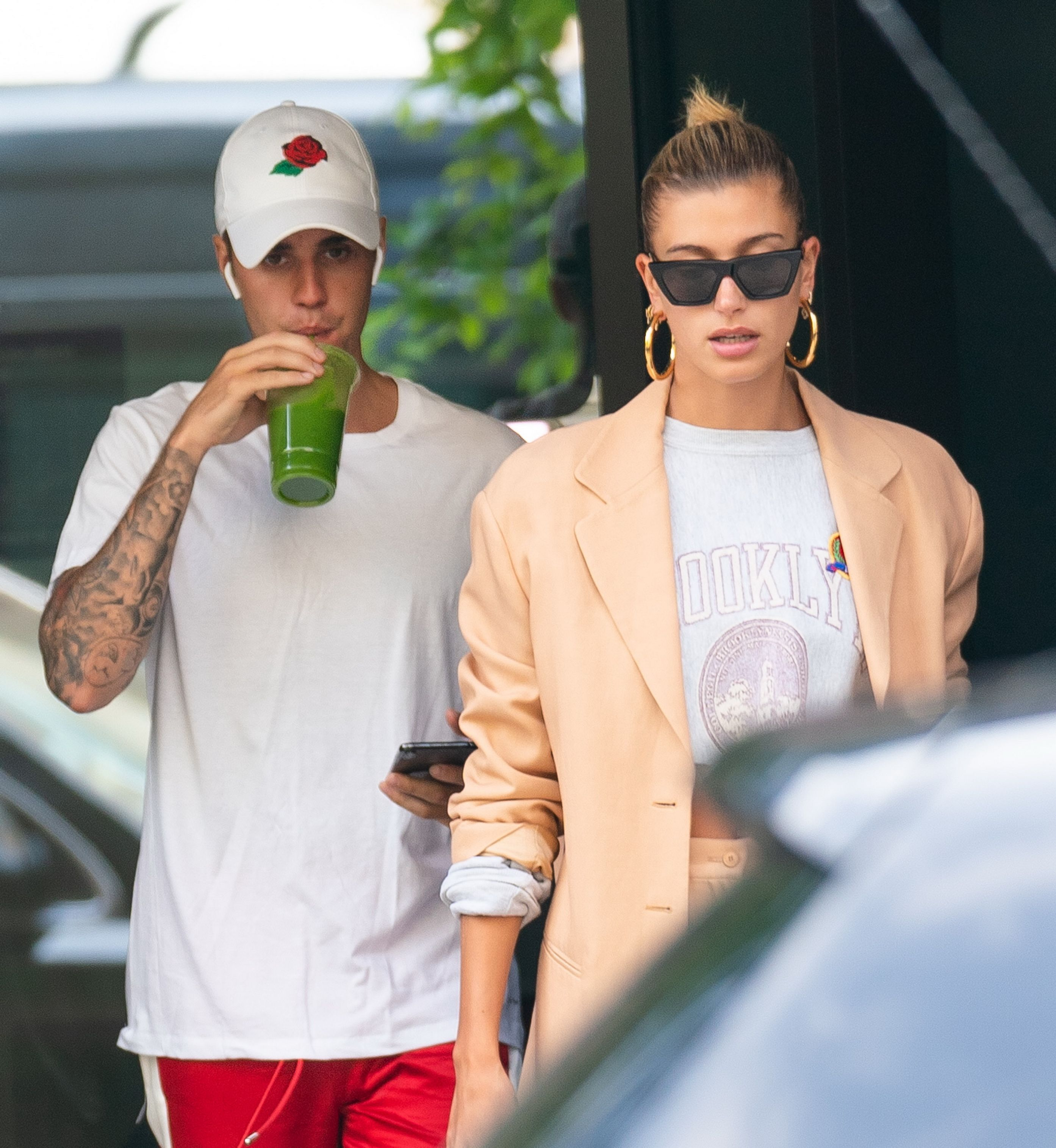 Justin Bieber and Hailey Baldwin on an outing