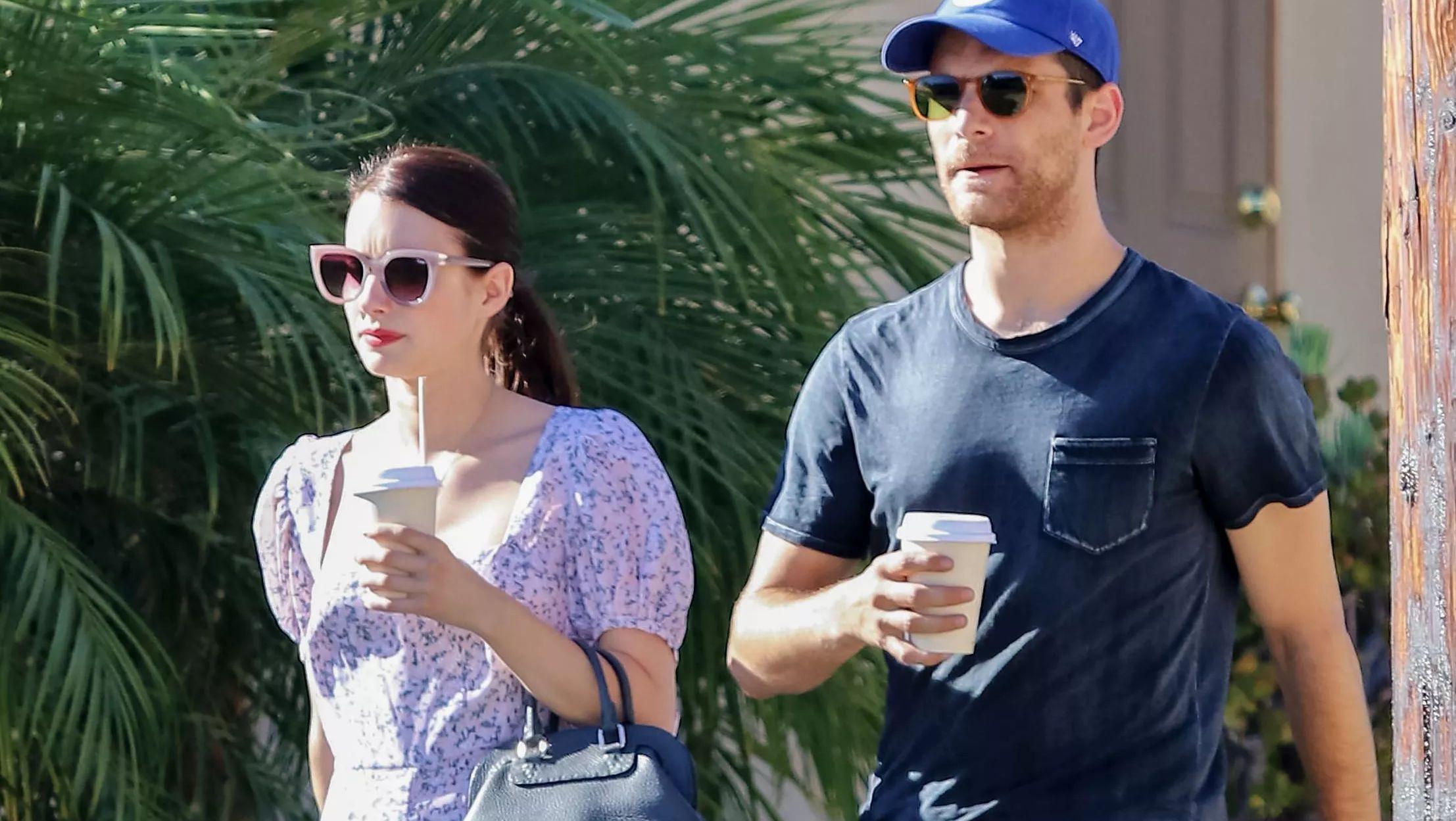 Emma Roberts Is Pregnant Actress Expecting First Child With Boyfriend Garrett Hedlund