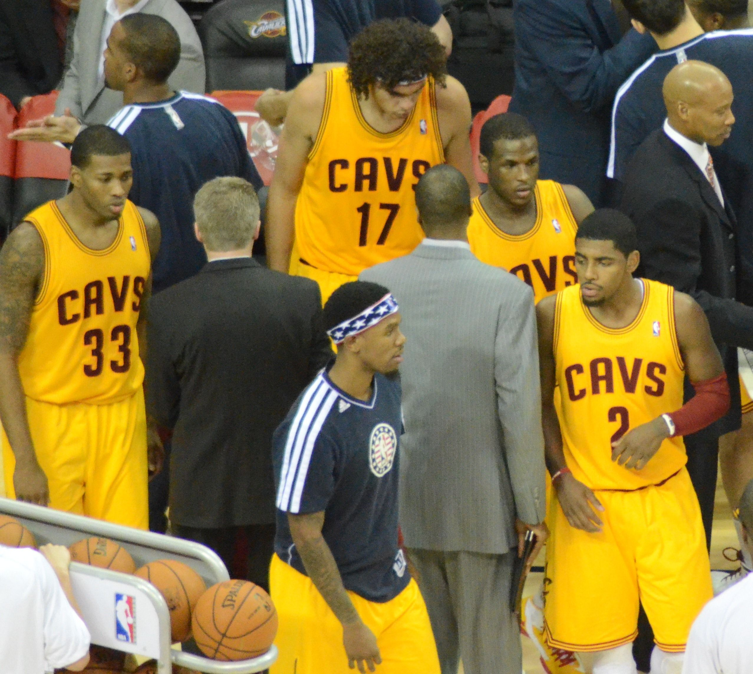 Cleveland Cavaliers players.