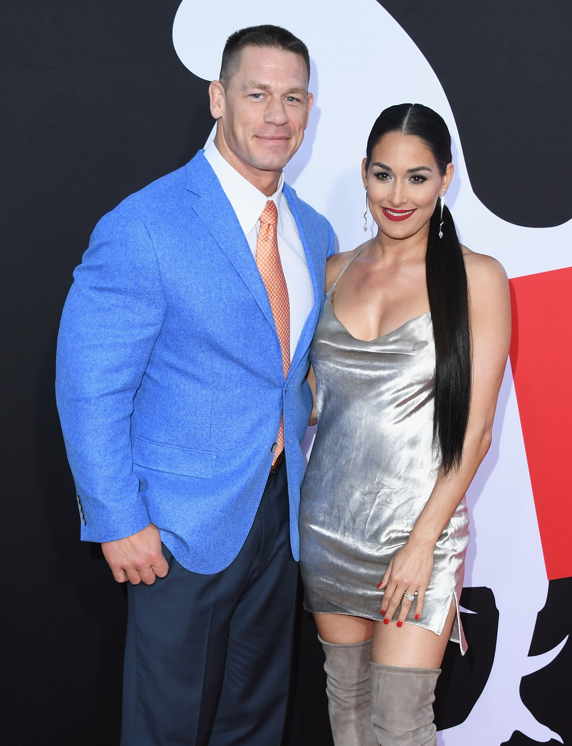 John Cena S Feelings About Ex Gf Nikki Bella Becoming A Mom John cena and shay shariatzadeh, who had been dating since 2019, were married in florida this week. ex gf nikki bella becoming a mom