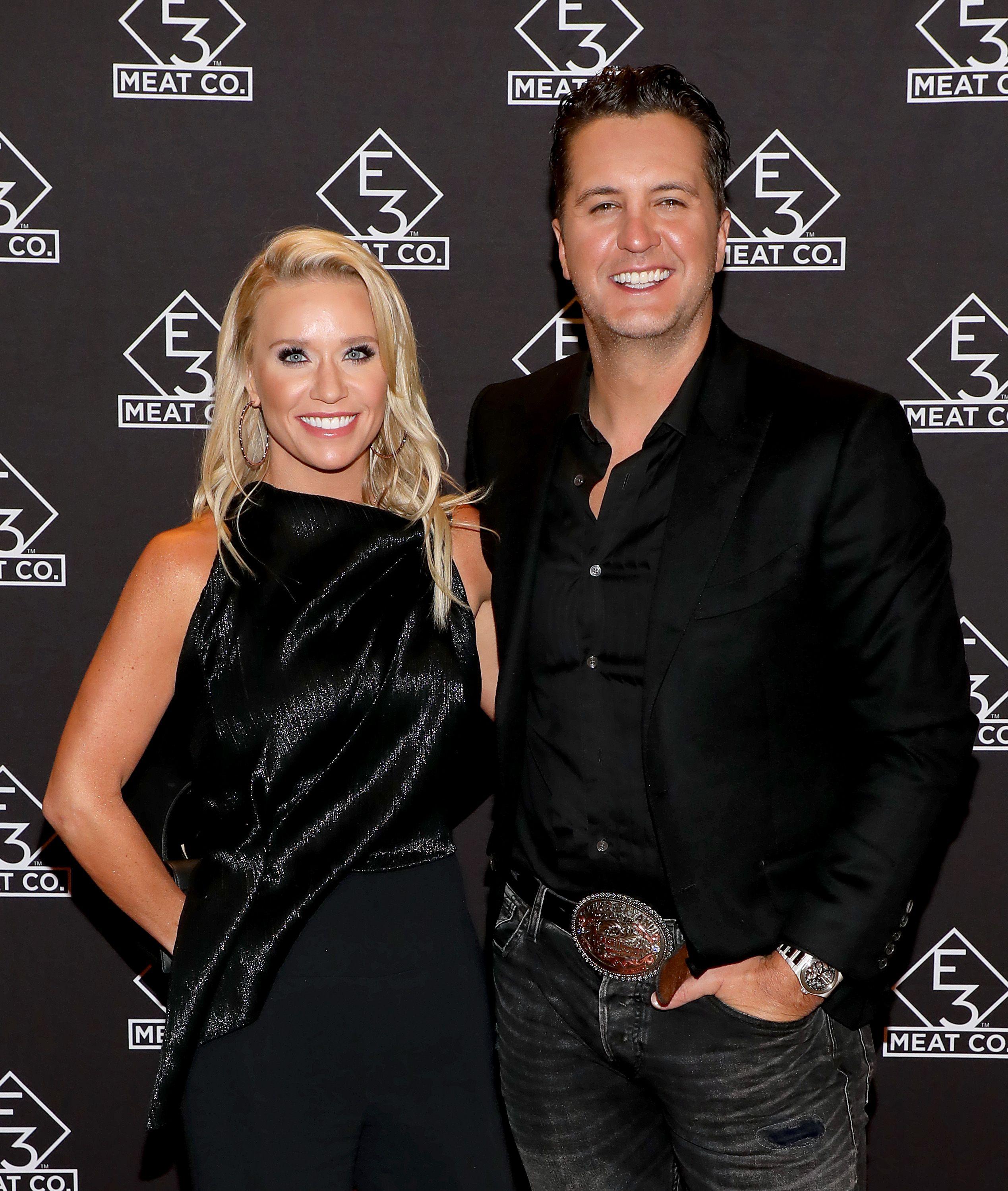 Luke Bryan and his wife Caroline Boyer