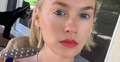 January Jones Shares Rare Photo Of Son With Unknown Father
