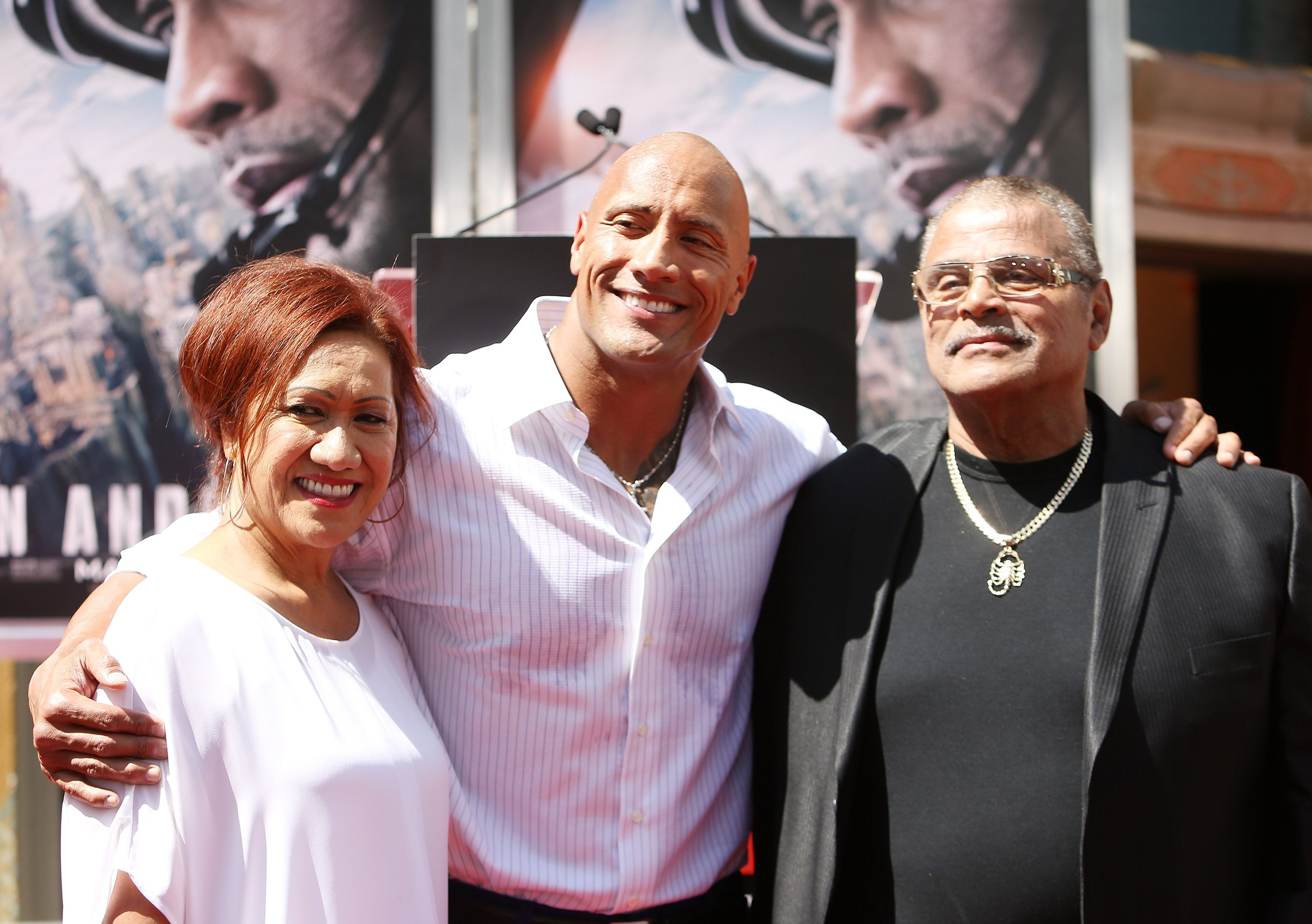 Fans Support The Rock As News Spreads Of His Dad S Death