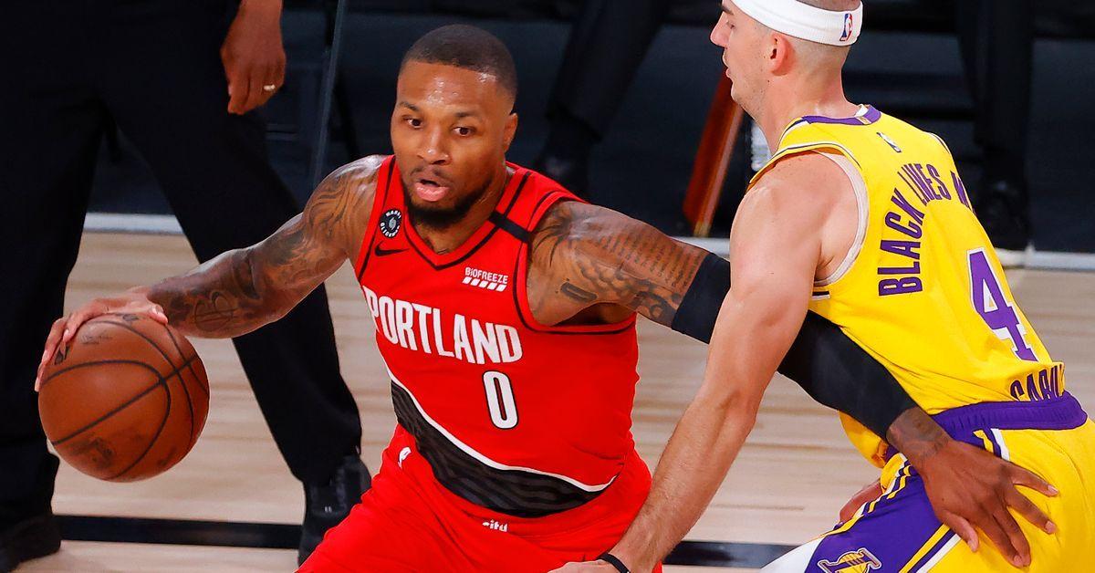 NBA Rumors: Proposed Blockbuster Would Send Damian Lillard To LA Lakers For Four Players & Draft Pick