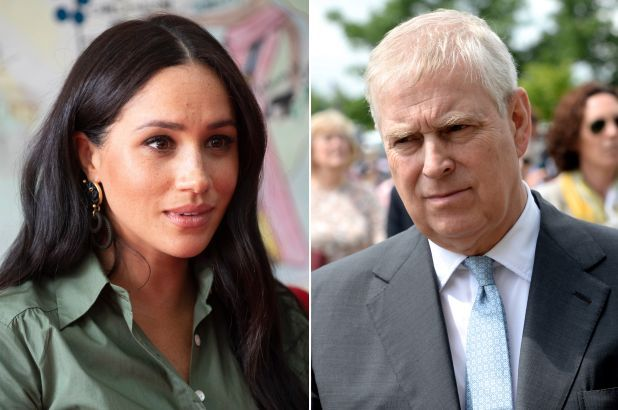 Meghan Markle and Prince Andrew