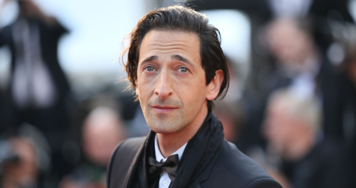 Adrien Brody appears at an event.