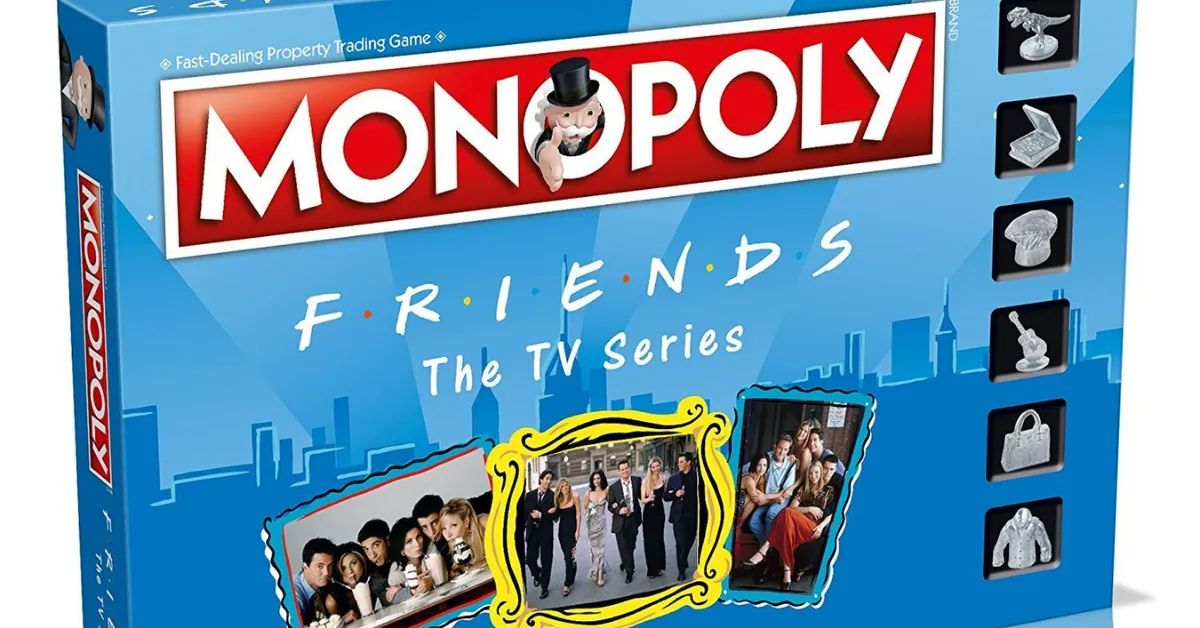 Friends Monopoly Lets You Play As Your Favorite