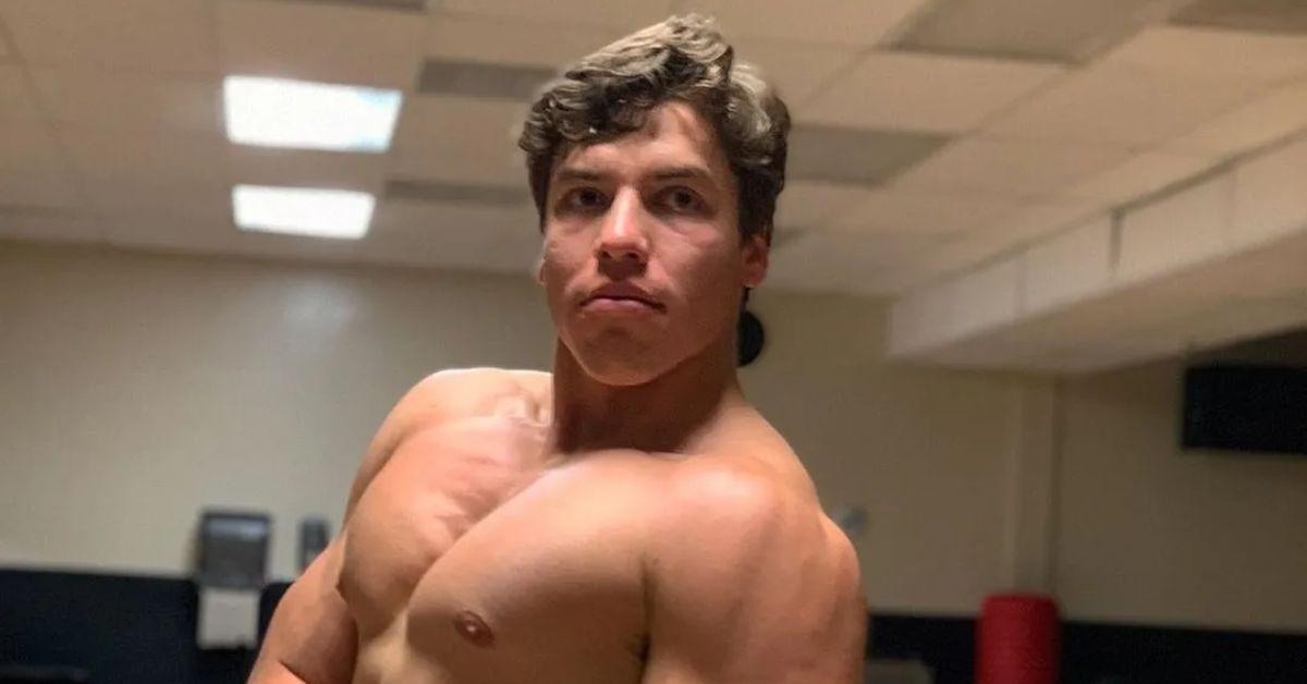 Joseph Baena, Arnold Schwarzeneggers son, recreates his