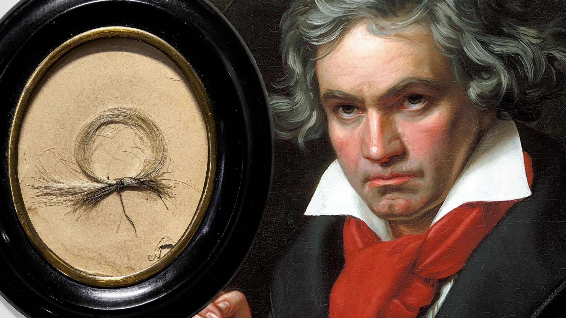 Beethoven's Hair Sells For $44,000 Dollars During Bizarre Auction