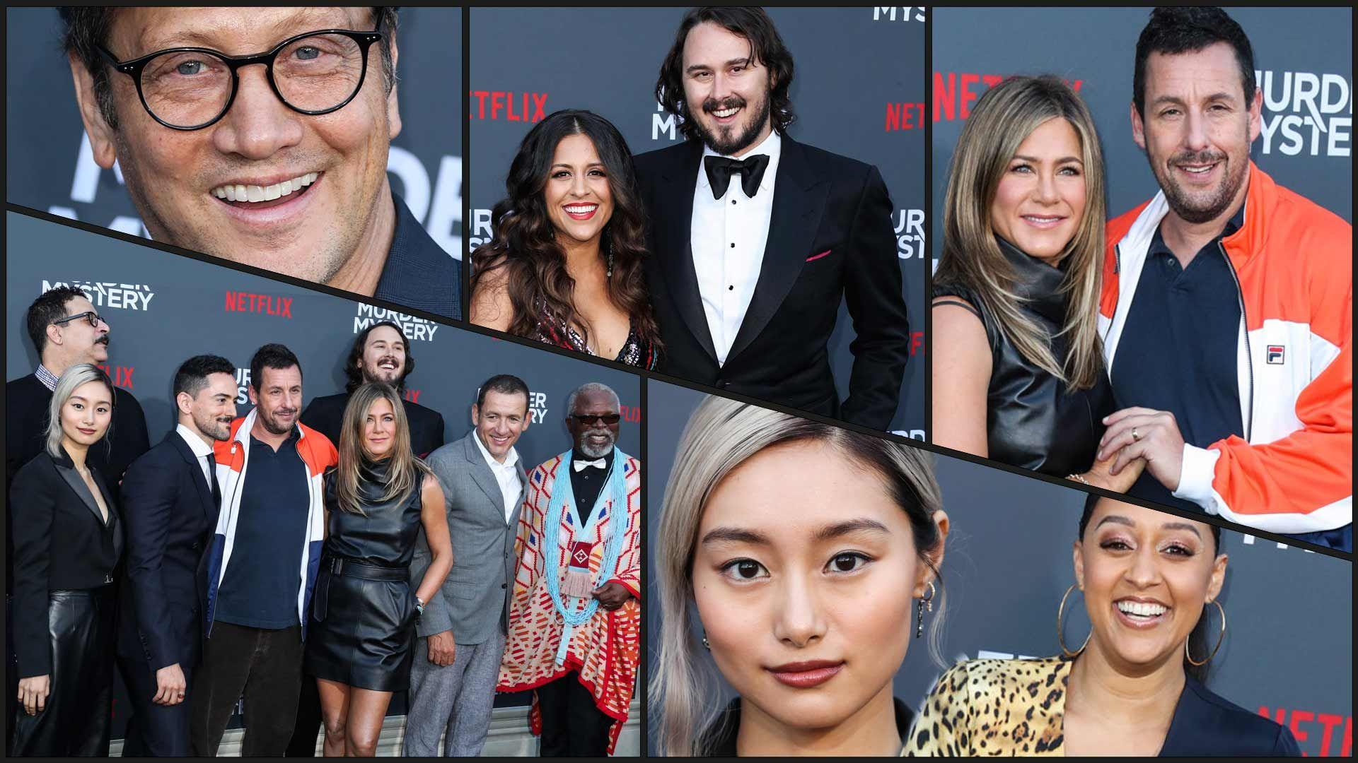 Adam Sandler & Jen Aniston Kill the Red Carpet for 'Murder Mystery'