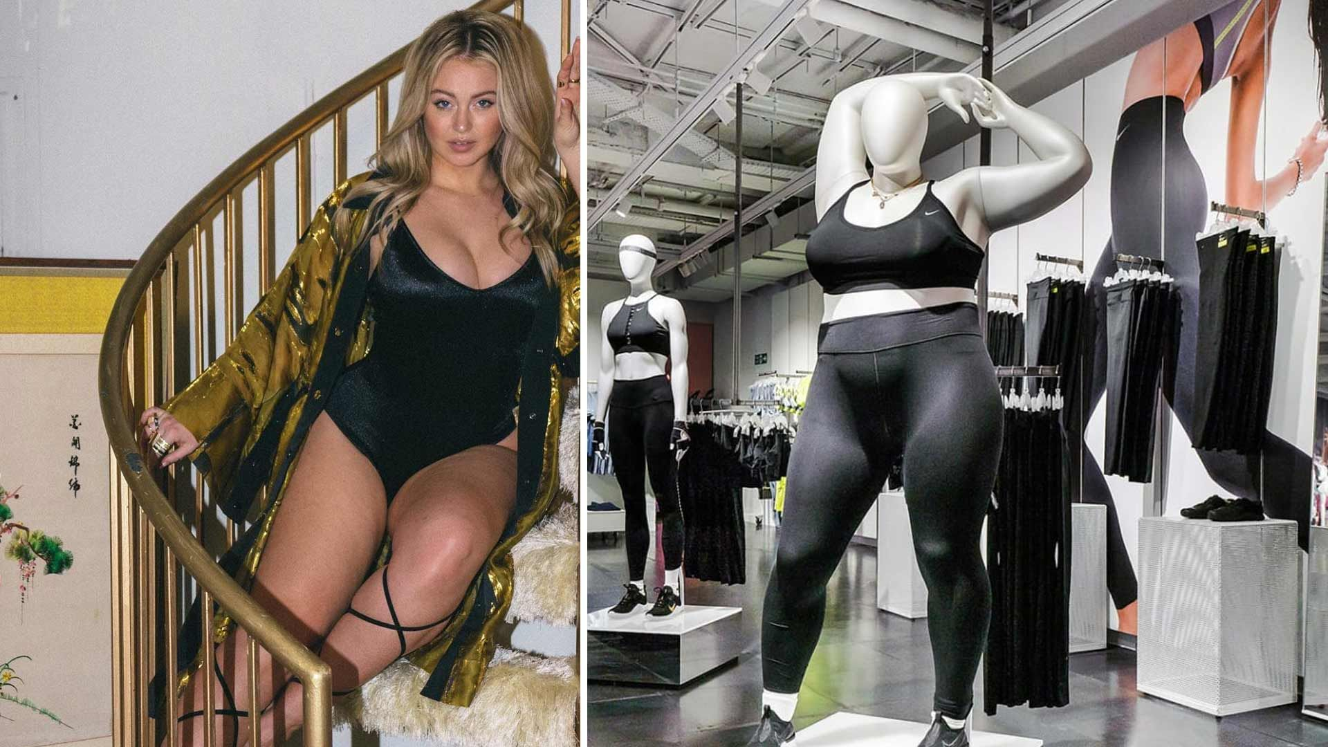 Iskra Lawrence Shows Support for Nike's Plus-Size Mannequins