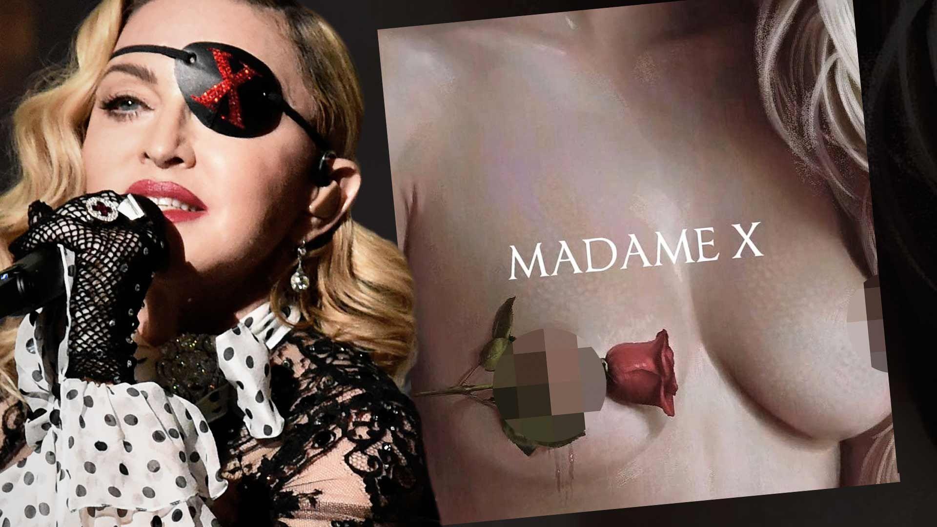 Madonna Shows Off Shocking NSFW Madame X Album Art