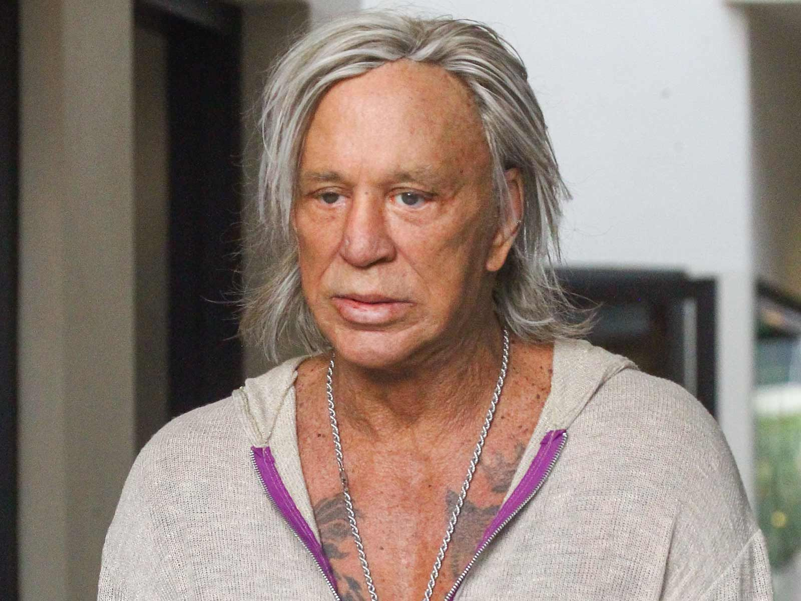 Mickey Rourke Socked with $50,0000 Judgment Over Unpaid ...