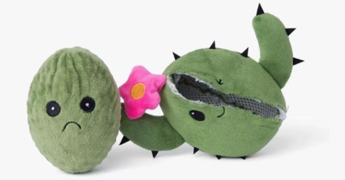 Plush Toy With A Backup Stored Inside Dares Dogs To Tear ...