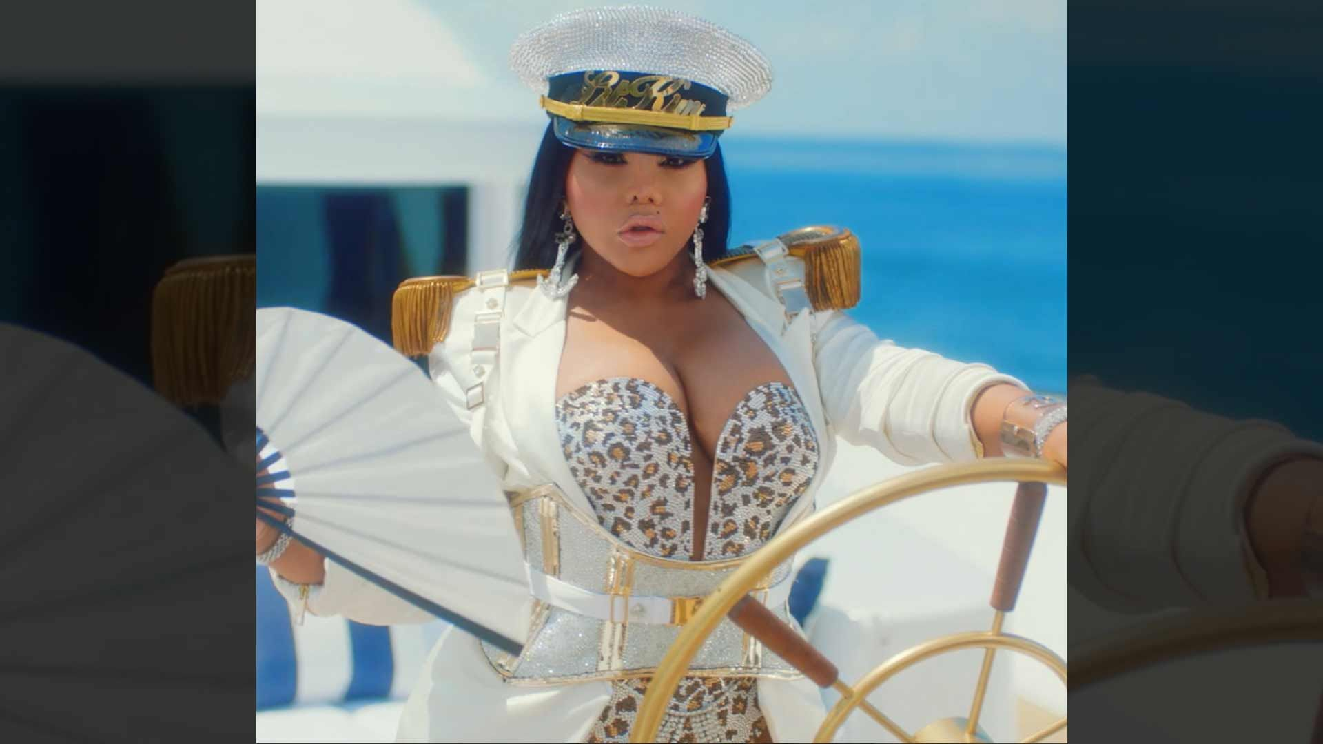 Lil Kim Plays Yacht Captain in Teaser for VH1 Reality Show 'Girls Cruise'