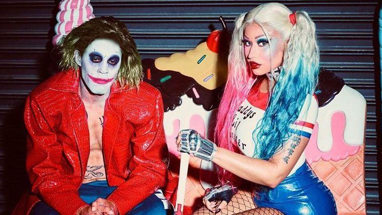 Nicki Minaj Reveals Harley Quinn Halloween Costume ...Nicki Minaj Pasties Halloween