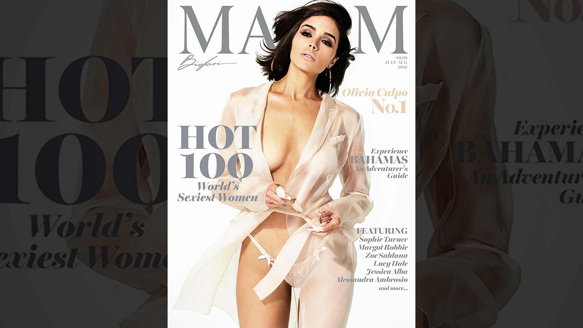 Olivia Culpo Shoots Steamy Maxim Cover After Scoring Top Spot