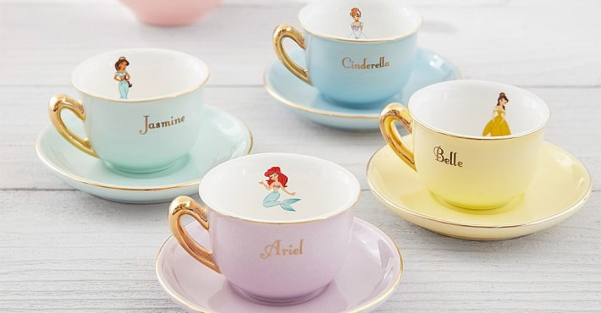 We Need This Disney Princess Tea Set To Be Part Of Our World