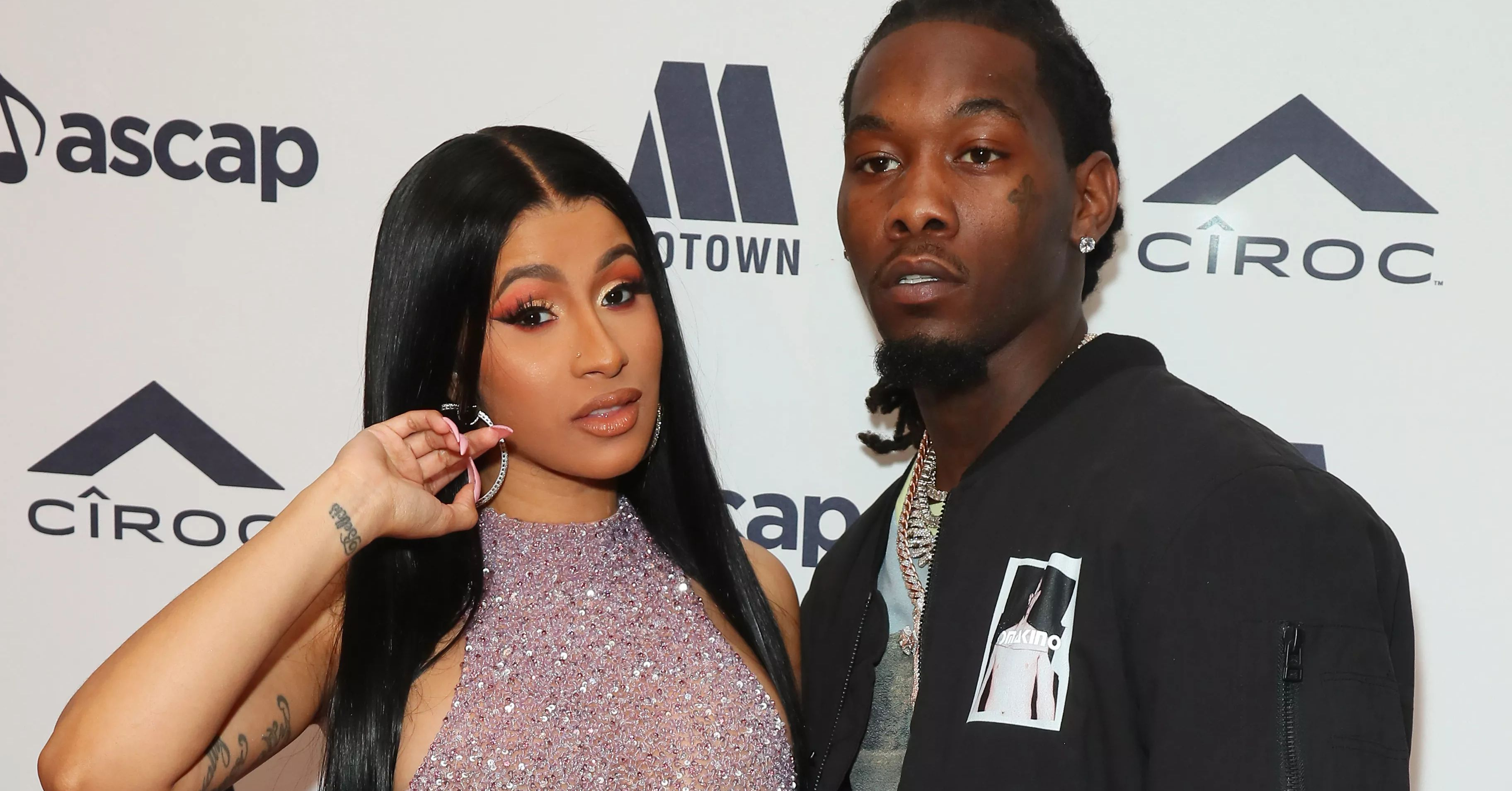 Migos Offset Husband Of Cardi B Arrested On Felony Gun: 'Migos' Rapper Offset Detained In Los Angeles For Possible